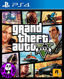 Grand Theft Auto V (PlayStation 4) Region Free (PS4 English & Chinese Subtitled Version) 俠盜獵車手5 (高清版) (中英文合版)