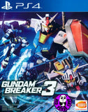 Gundam Breaker 3 (PlayStation 4) Region Free (PS4 English Subtitled Version)