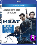 Heat 盜火線 Blu-Ray (1995) (Region A) (Hong Kong Version) 2 Discs Director's Definitive Edition