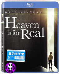 Heaven Is For Real Blu-Ray (2014) (Region Free) (Hong Kong Version)