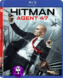 Hitman: Agent 47 Blu-Ray (2015) (Region A) (Hong Kong Version)