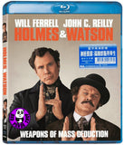 Holmes & Watson 神經戇探: 福爾摩斯與華生 Blu-Ray (2018) (Region A) (Hong Kong Version)