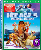 Ice Age 5: Collision Course 冰河世紀: 隕石撞地球‬ 2D + 3D Blu-Ray (2016) (Region Free) (Hong Kong Version) 2 Disc Deluxe Edition