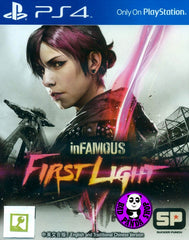 inFamous: First Light (PlayStation 4) Region Free (PS4 English & Chinese Subtitled Version) 惡名昭彰: 破曉 (中英文合版)