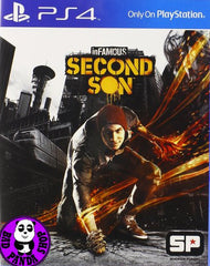 inFamous - Second Son (PlayStation 4) Region Free (PS4 English & Chinese Subtitled Version) 惡名昭彰: 第二之子 (中英文合版)