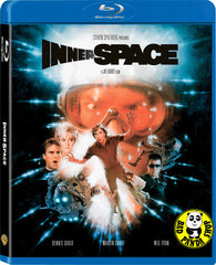 Innerspace Blu-Ray (1987) (Region A) (Hong Kong Version)
