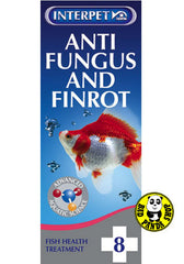 Interpet No. 8 Anti Fungus & Finrot 100ml (Other Brands) (Aquarium Treatment)
