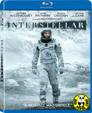 Interstellar 星際啟示錄 Blu-Ray (2014) (Region Free) (Hong Kong Version) 2 Disc Edition