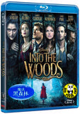 Into The Woods 魔法黑森林 Blu-Ray (2014) (Region A) (Hong Kong Version)