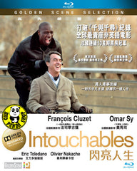 Intouchables Blu-Ray (2011) (Region A) (Hong Kong Version) French Movie