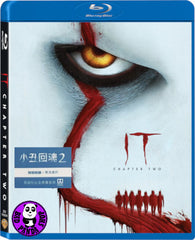 It Chapter Two Blu-ray (2019) 小丑回魂2 (Region Free) (Hong Kong Version)