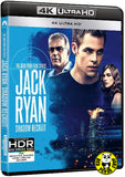 Jack Ryan: Shadow Recruit 驚天諜變: 魅影特攻 4K UHD (2014) (Hong Kong Version)