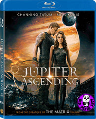 Jupiter Ascending Blu-Ray (2015) (Region A) (Hong Kong Version)