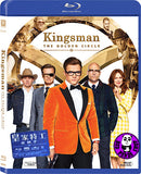 Kingsman: The Golden Circle 皇家特工: 金圈子 Blu-Ray (2017) (Region A) (Hong Kong Version)