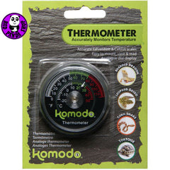 Komodo Analog Thermometer 82400 (Other Brands) (Reptile Accessories)