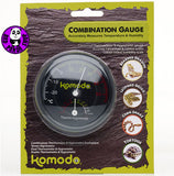 Komodo Combined Analogue Thermometer & Hygrometer 82402 (Other Brands) (Reptile Accessories)