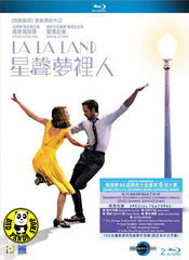 La La Land 星聲夢裡人 Blu-Ray (2016) (Region A) (Hong Kong Version) 2 Disc Edition