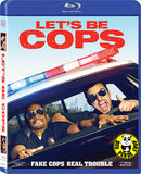 Let's Be Cop Blu-Ray (2014) (Region A) (Hong Kong Version)