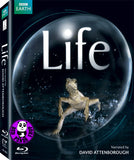 Life Blu-Ray (BBC) (Region A) (Hong Kong Version) 4 Disc Set