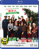Love The Coopers 谷家大鑊過聖誕 Blu-Ray (2015) (Region A) (Hong Kong Version)