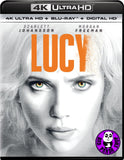 Lucy 4K UHD + Blu-Ray (2014) (Hong Kong Version)