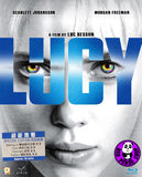 Lucy Blu-Ray (2014) (Region A) (Hong Kong Version)