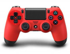 Official PlayStation 4 Dualshock 4 Wireless Controller - Magma Red (PlayStation 4 Accessories)