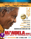 Mandela Long Walk to Freedom Blu-ray (2013) (Region A) (Hong Kong Version)
