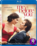 Me Before You 遇見你之前‬‬ Blu-Ray (2016) (Region A) (Hong Kong Version)