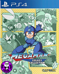 Mega Man Legacy Collection (PlayStation 4) Region Free