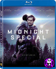 Midnight Special 異能劫‬ Blu-Ray (2016) (Region A) (Hong Kong Version)