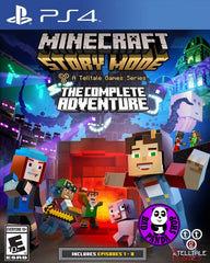 Minecraft: Story Mode - The Complete Adventure - Telltale Series (PlayStation 4) Region Free