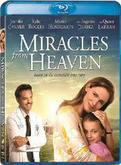 Miracles From Heaven 天堂奇癒記 Blu-Ray (2016) (Region A) (Hong Kong Version)