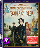 Miss Peregrine's Home For Peculiar Children 柏鳥小姐的童幻世界 2D + 3D Blu-Ray (2016) (Region A) (Hong Kong Version) 2 Disc
