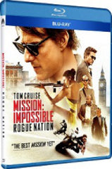 Mission Impossible: Rogue Nation Blu-Ray (2015) (Region A) (Hong Kong Version)
