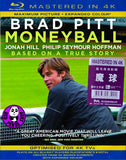 Moneyball Blu-Ray (2011) (Region Free) (Hong Kong Version) (Mastered in 4K)