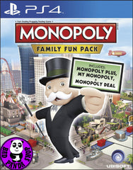 Monopoly: Family Fun Pack (PlayStation 4) Region Free