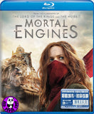 Mortal Engines Blu-Ray (2018) 移動城市: 致命引擎 (Region A) (Hong Kong Version)