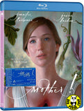 Mother! 媽媽! Blu-Ray (2017) (Region A) (Hong Kong Version)