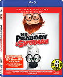 Mr. Peabody & Sherman 百寶狗先生與細蚊: 時光機大歷險 2D + 3D Blu-Ray (2014) (Region A) (Hong Kong Version) Deluxe Edition