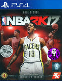 NBA 2K17 (PlayStation 4) Region Free (PS4 English & Chinese Subtitled Version) (中英文版)