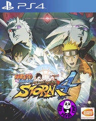 Naruto Shippuden: Ultimate Ninja Storm 4 (PlayStation 4) Region Free (PS4 English Version)