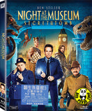Night At The Museum 3 Secret Of The Tomb Blu-Ray (2014) (Region A) (Hong Kong Version)