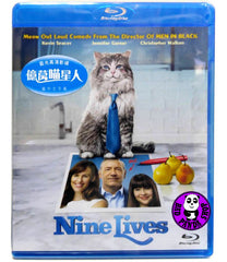 Nine Lives 億萬喵星人 Blu-Ray (2016) (Region A) (Hong Kong Version)