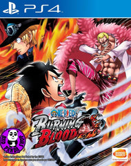 One Piece: Burning Blood (PlayStation 4) Region Free (PS4 English Subtitled Version)