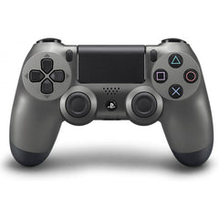 Official PlayStation 4 Dualshock 4 Wireless Controller - Steel Black (PlayStation 4 Accessories)