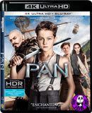 Pan 小飛俠: 魔幻始源 4K UHD + Blu-Ray (2015) (Hong Kong Version)