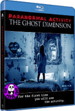 Paranormal Activity: The Ghost Dimension Blu-Ray (2015) (Region A) (Hong Kong Version) a.k.a. Paranormal Activity 5
