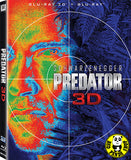 Predator 2D + 3D Blu-Ray (2013) (Region A) (Hong Kong Version)
