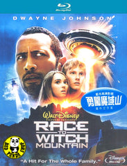 Race To Witch Mountain Blu-Ray (2009) (Region A) (Hong Kong Version)